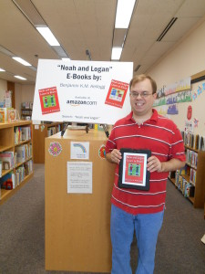 Here I am at the Pulaski Public Library!