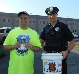 Fulton Police Officer, Jacob Chernesky and me!