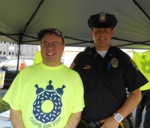Fulton Police Officer, Brian Dumas and me!
